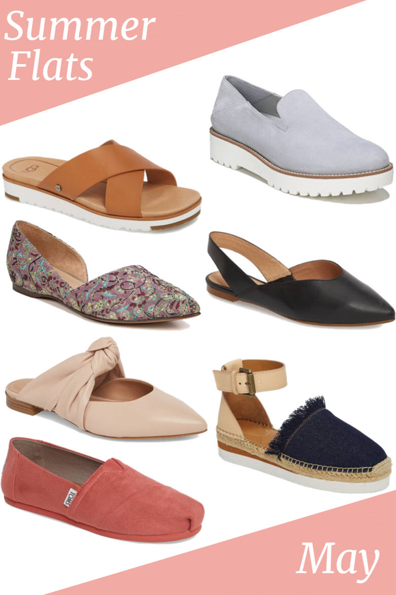 Best Flats for Summer 2018