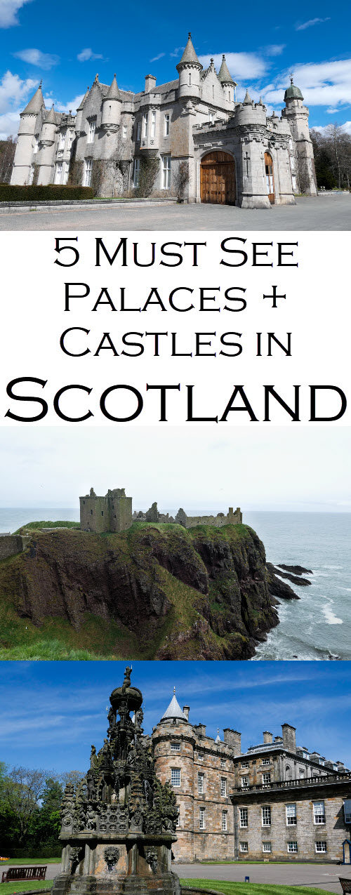 Scotland Palaces + Castles to Visit. Best Scottish historical sites as part of this Scotland Travel Guide Series. #travel #lpworldtravel #Scotland #UnitedKingdom #Britain #travelblog #travelguide