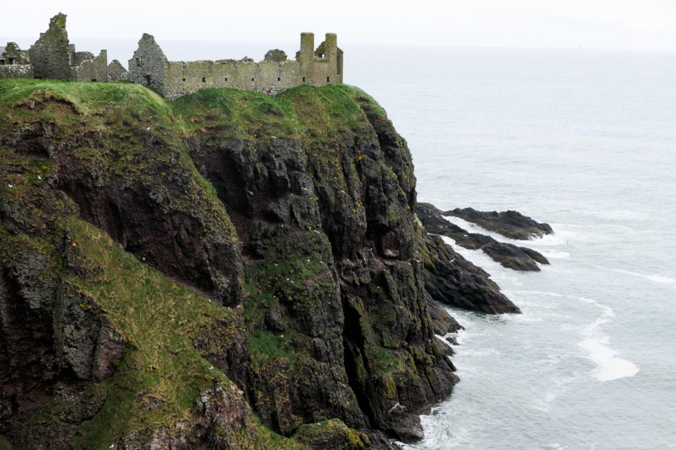 Scotland Castles + Palaces to Visit - Dunnottar Castle