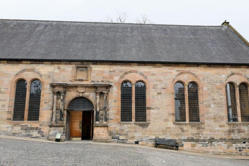 Scotland Palaces + Castles to Visit - Stirling Castle