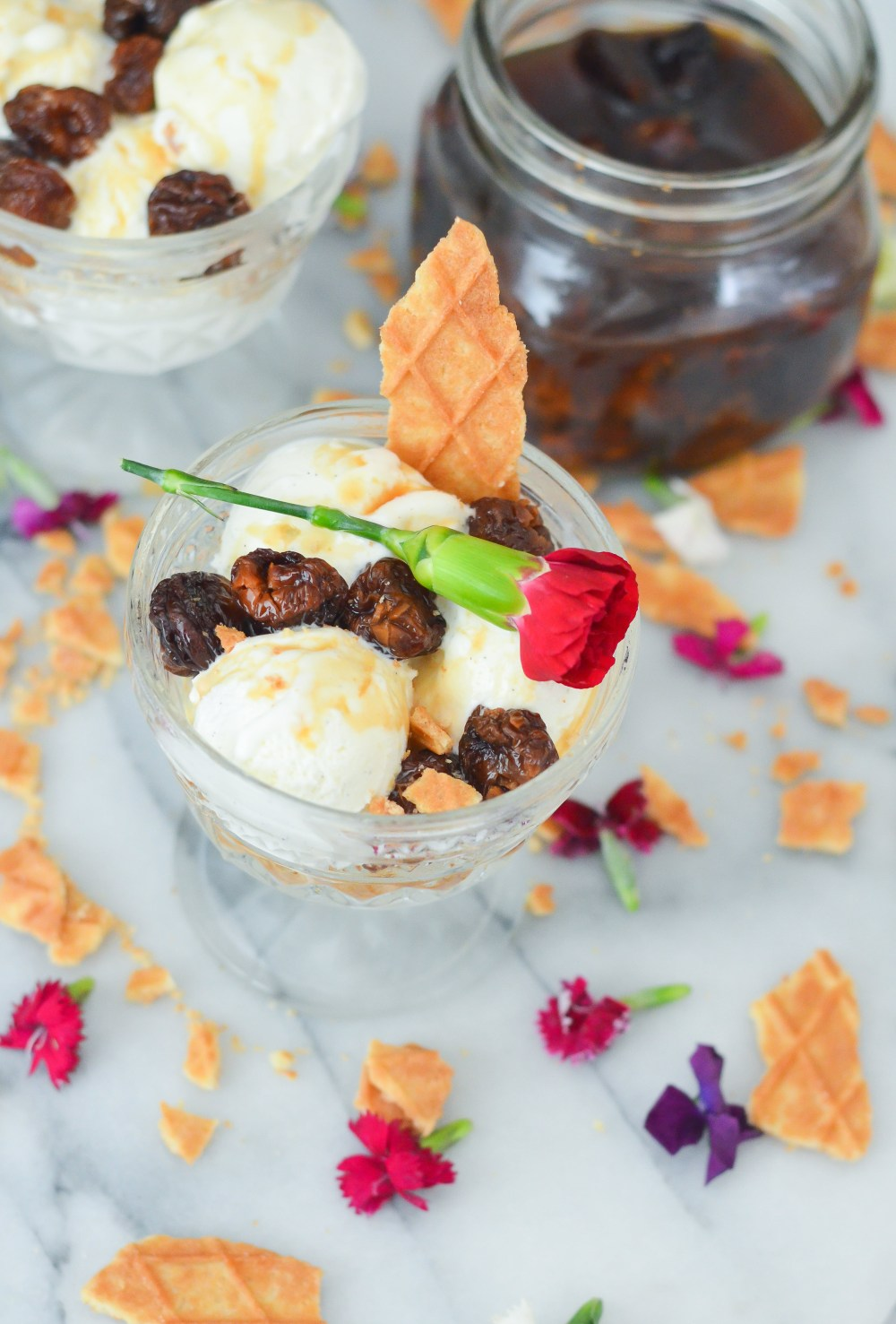 Ice Cream Toppings Recipes - Soaked Dried Cherries Recipe