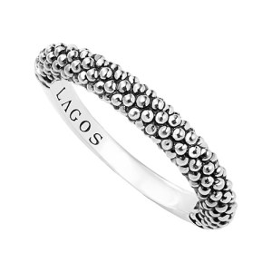 LAGOS Caviar Stacking Ring Review