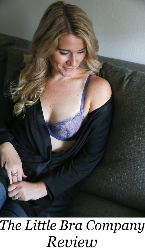 The Little Bra Company Review - Best Bras for Small Busts. #intimateapparel #lingerie #womensfashion #womensstyle #realwomen