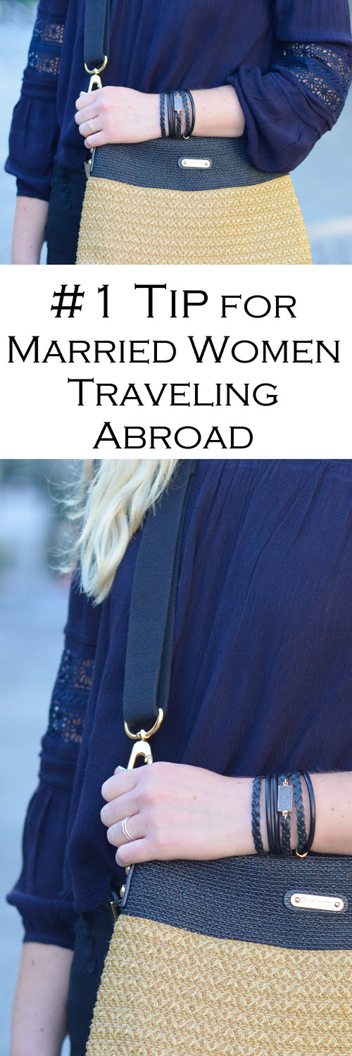 Should You wear Engagement + Wedding Rings Abroad. #1 Tip for Married Women Traveling Internationally - Wearing Engagement + Wedding Rings Abroad. #traveltips #travel #girlswhotravel #travelingabroad #travelblog #lpworldtravels