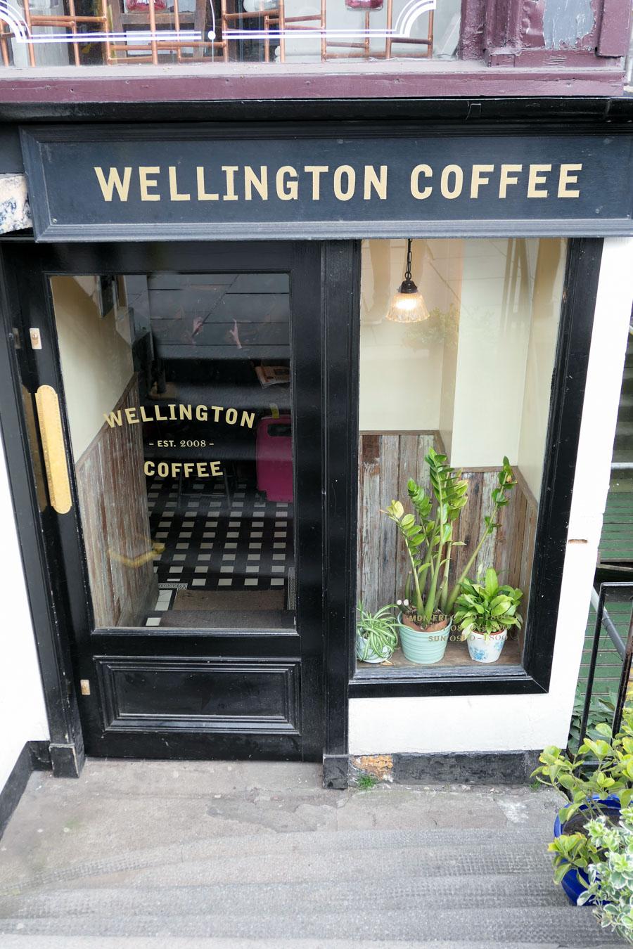 Where to Eat in Edinburgh - New Town Edinburgh Coffee