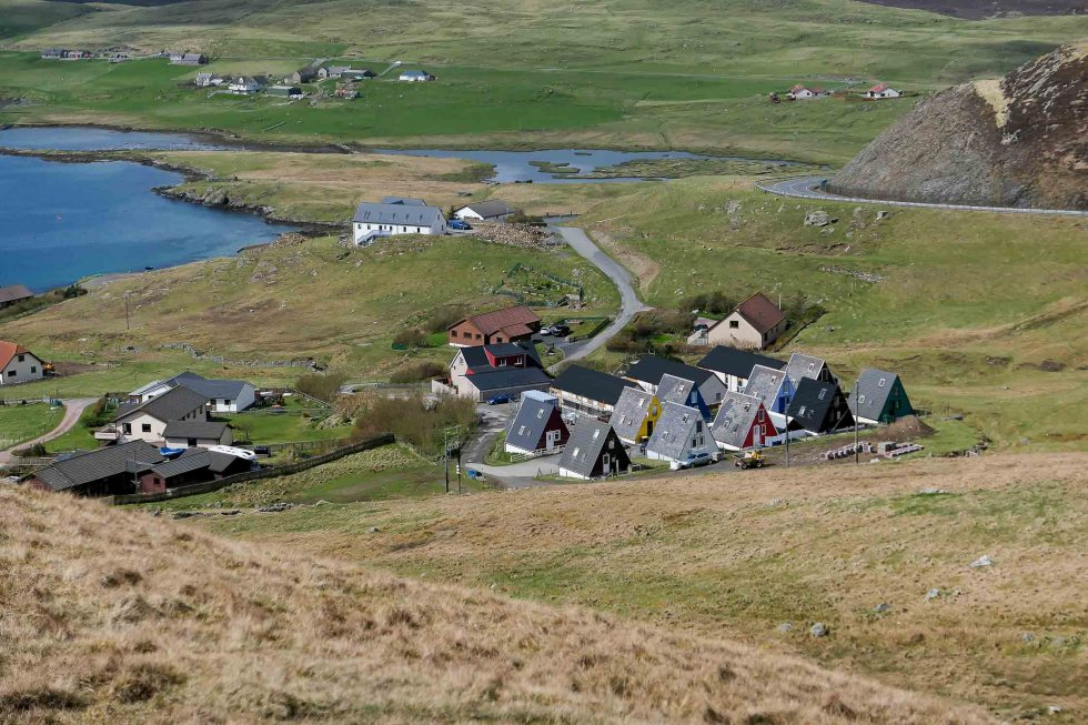 Shetland Isles + Orkney Islands Travel Guide - Town of Scalloway with Castle