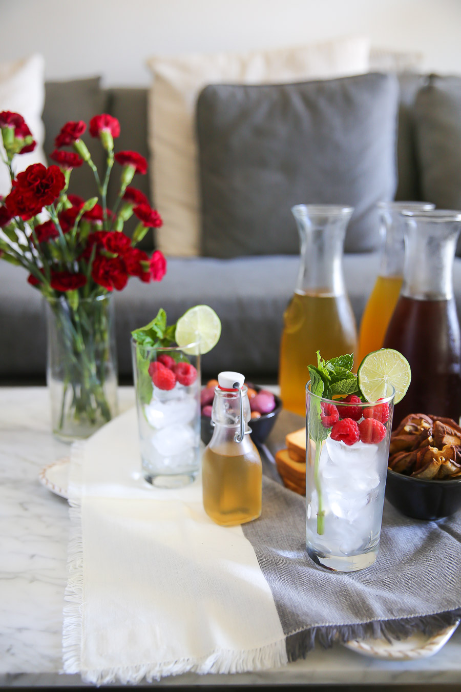 Healthy Iced Tea Recipes for Summer Entertaining