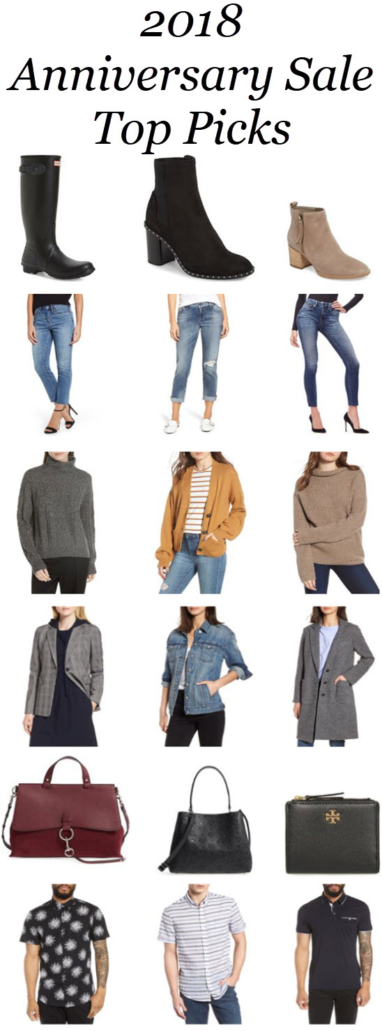 Nordstrom Anniversary Sale 2018 picks. You'll love these blogger picks for the 2018 Nordstrom Anniversary Sale. Get great fall coats, the latest denim trends, and stylish men's clothing for fall and winter. #nordstrom #nsale #anniversarysale #falltrends #salealert #fashionblog #fashionblogger #style #blogger #nordygirl