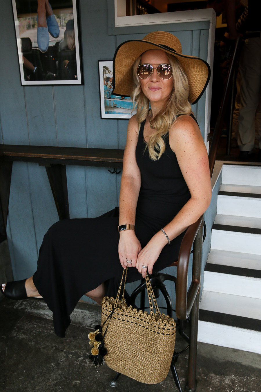 How to Style a Maxi Dress and Hat Outfit - Must Have Accessory