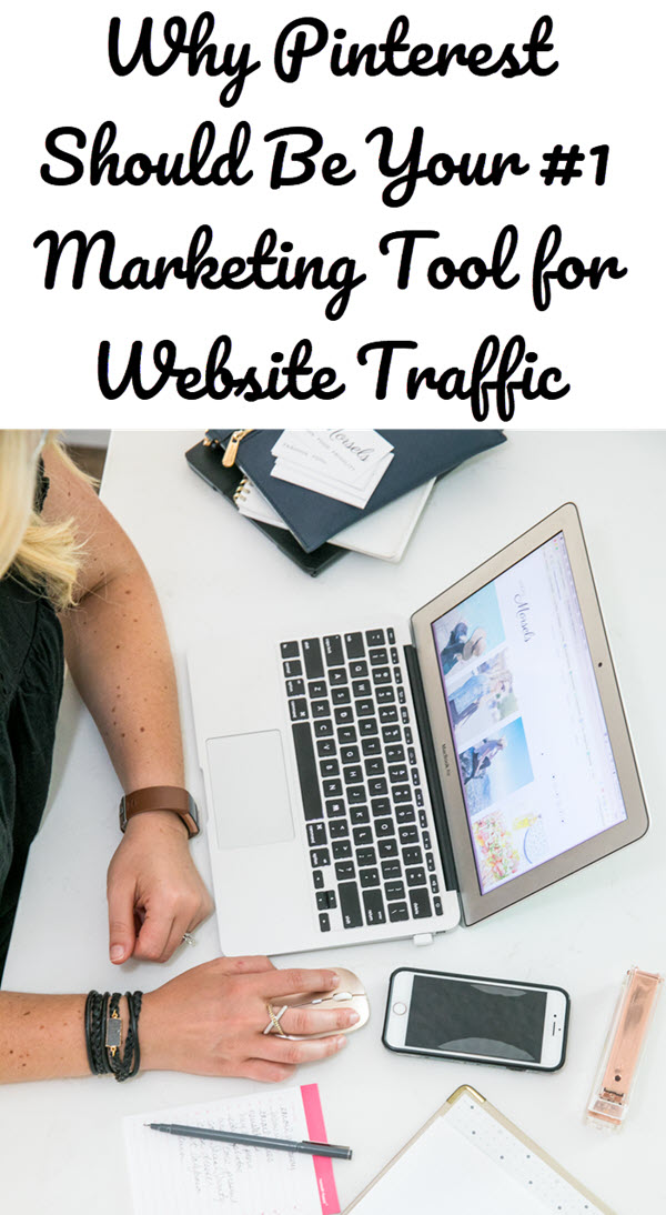 Why Pinterest Should Be Your #1 Marketing Tool for Traffic. Pinterest is possibly the best source to get more traffic to your blog and website. Follow a few simple steps and get ready for more website visitors. #pinterest #socialmedia #socialmediamarketing #bloggingtips