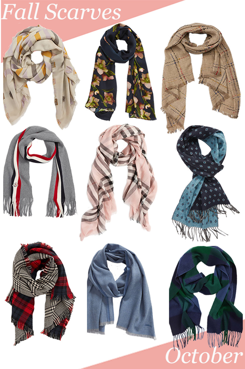Beautiful Scarves for Men + Women