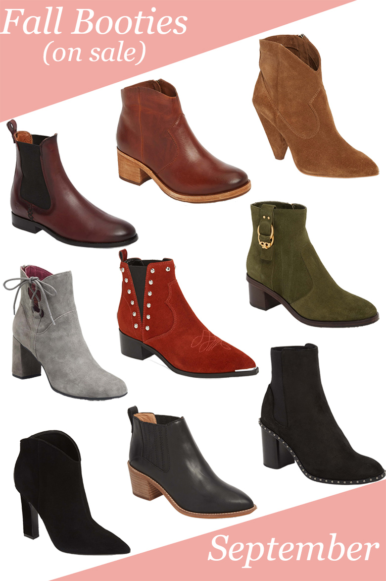Fall Booties (on sale now!)