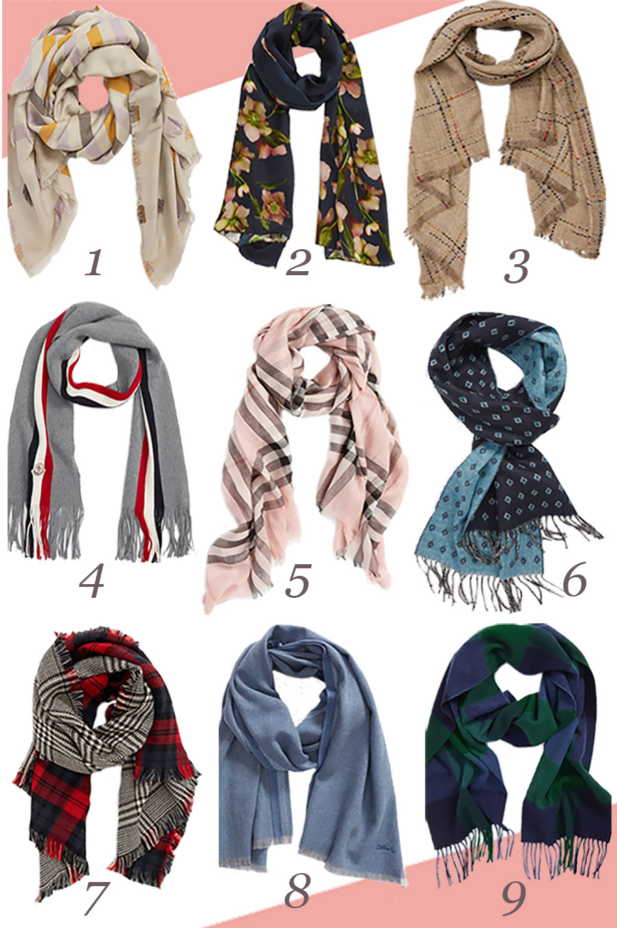 Fall Scarves for Men and Women 2018