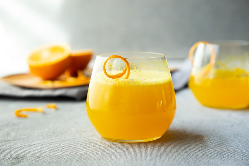 Turmeric Cocktail Recipe - Turmeric Orange Spritzer