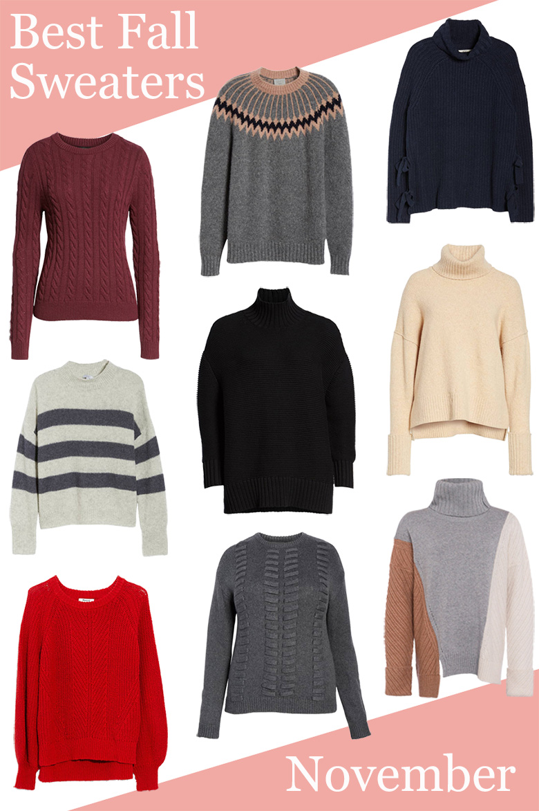 Best Fall Sweaters