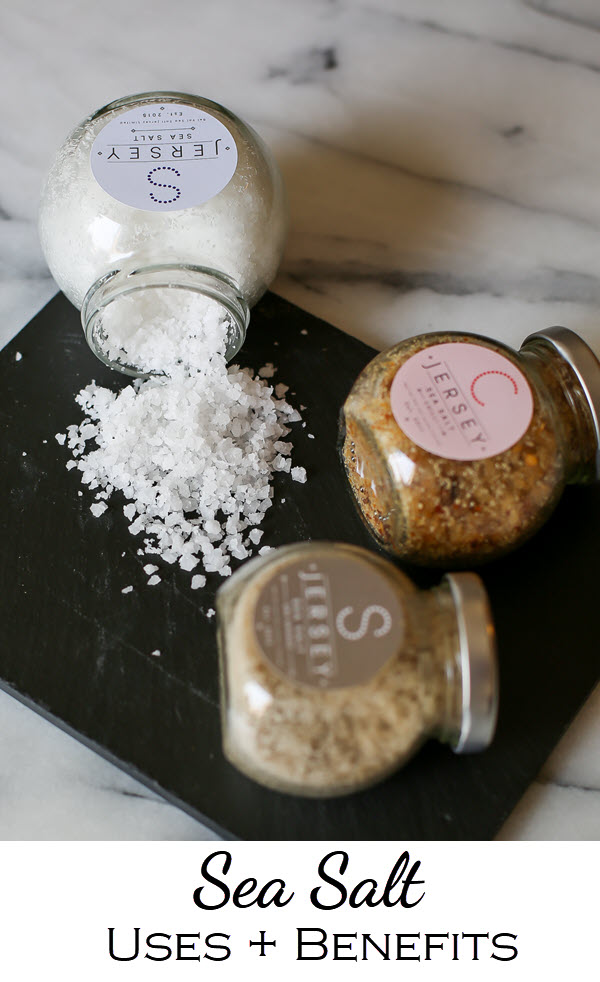 Sea Salt Benefits Beauty, Bath, Home - Jersey Sea Salt Uses. #diy #homemaker #beautyhacks #homehacks #candles #seasalt #homemade #greenbeauty #cleanbeauty #bbloggers #beautybloggers #gogreen