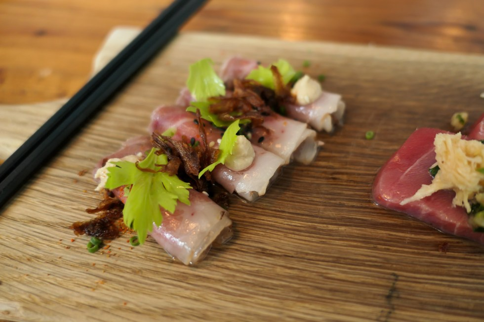 Portland Maine Things to Do and Restaurants - Raw Tuna Carpaccio