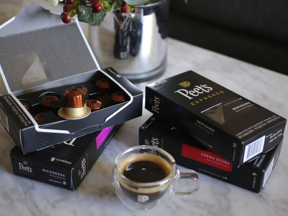 Nespresso Peets Coffee Pods Review