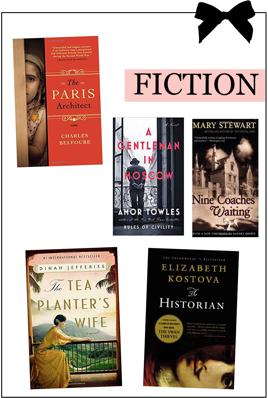 Book Gift Guide - Christmas 2018 - Fiction