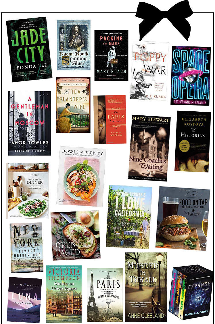 Book Gift Guide for All Those Booklovers