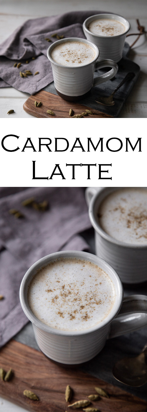 Homemade Cardamom Latte Recipe. A delicious homemade coffee shop drink. This tasty latte recipe with cardamom is a great warm winter drink.