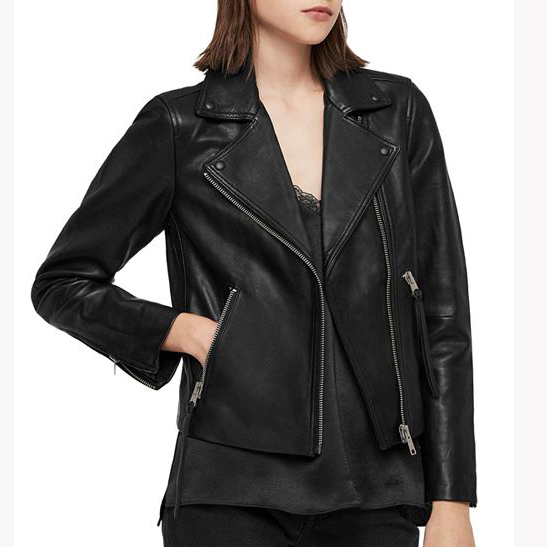 All Saints Black Leather Jacket Review