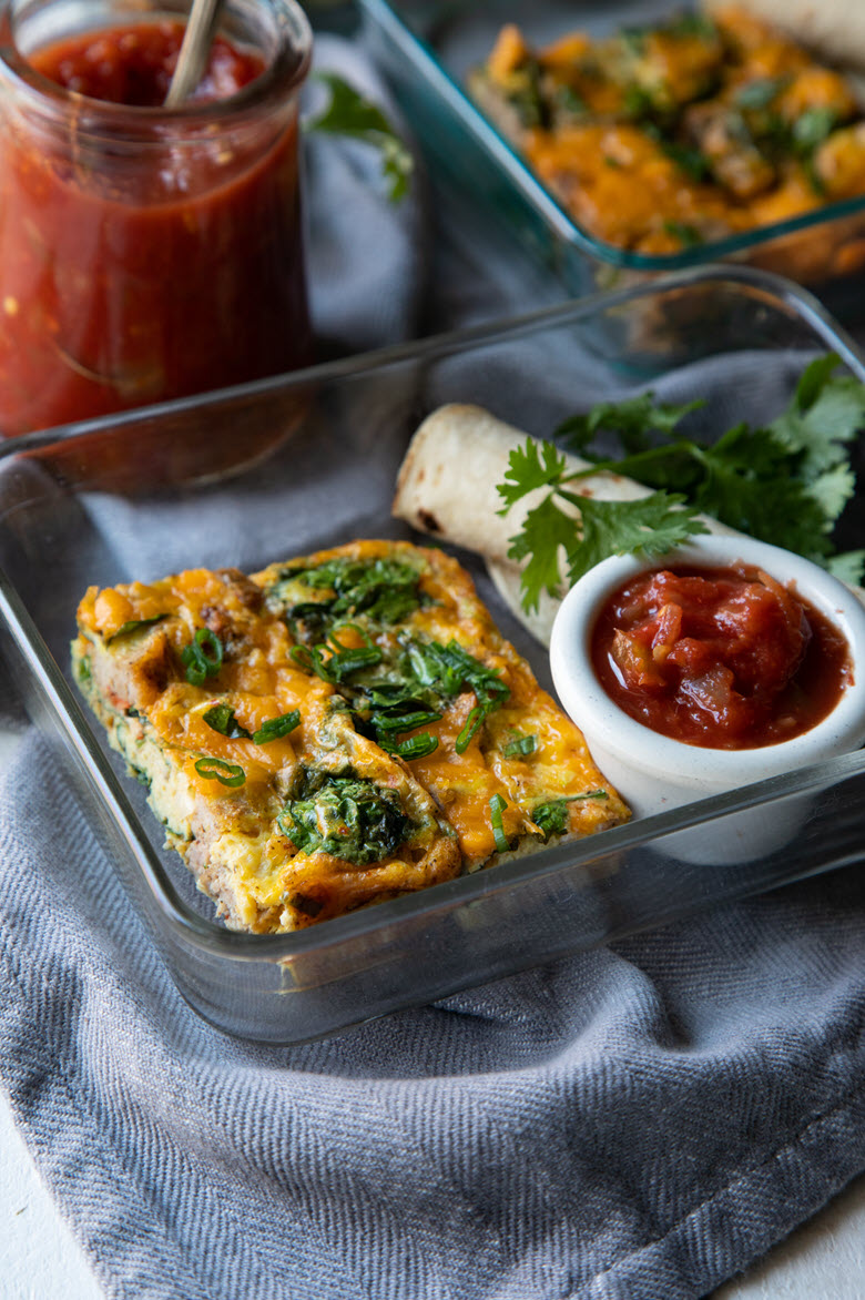 Make-Ahead Breakfast Tacos {Meal Prep}
