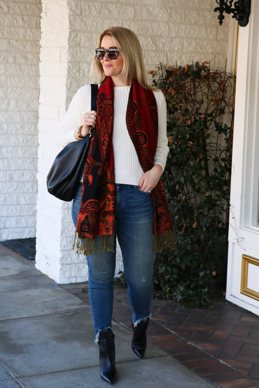 How to Wear Booties with Jeans - Heeled Booties
