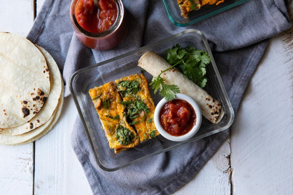 Make Ahead Breakfast Tacos - LowFODMAP Recipe Options