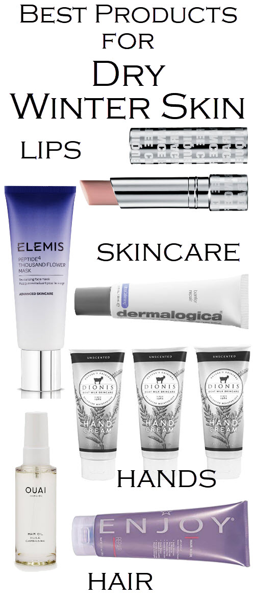 Best Products for Dry Winter Skin Essentials