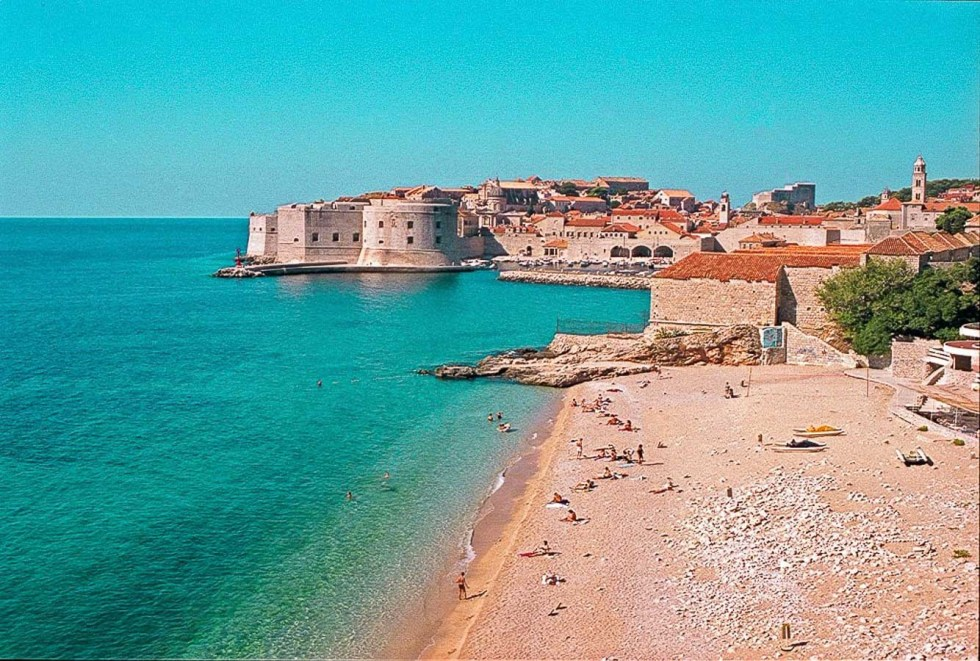 Where to Travel in 2019 - Banje-Beach-Dubrovnik-Croatia