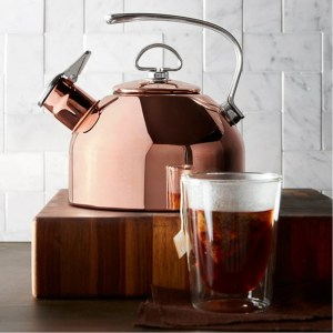 the Chantal tea kettle
