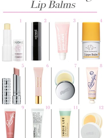 Best Moisturizing Lip Balms 2019