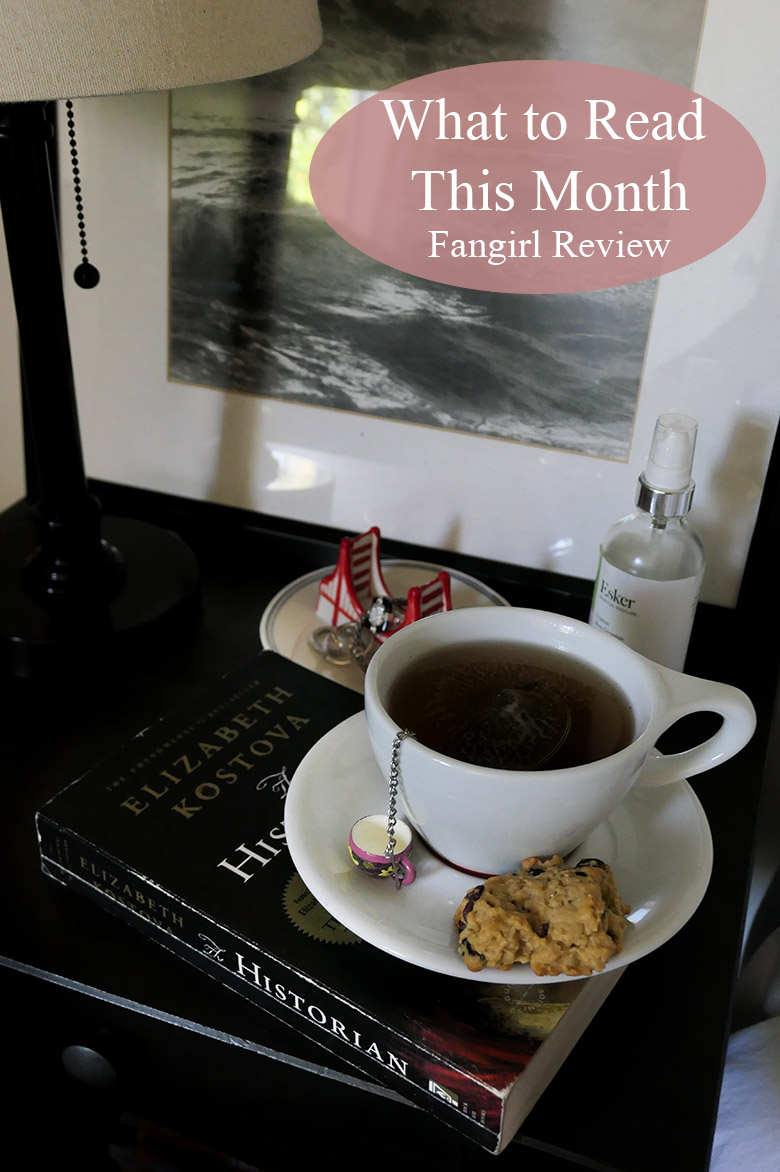 Fangirl Book Review - What to Read This Month. Also inclues review for The Historian by Elizabeth Kostova and The Dark Days Club by Alison Goodman. Reading Book recommendations in science fiction, history, and romance. #books #booklover #whattoread #lifestyle