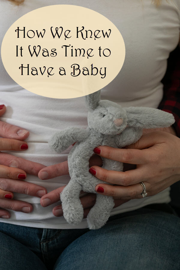 How to Decide When to Have a Baby in Your 30s. If you're an educated, professional, you may be wondering when is the right time to have a baby. Here's our baby story and how we decided together to try to get pregnant. #pregnancy #couples #marriage #family