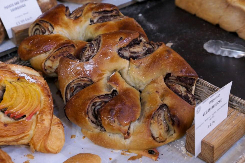 Daylesford Farm Shop + Restaurant - Gloucestershire - Vegan Brioche