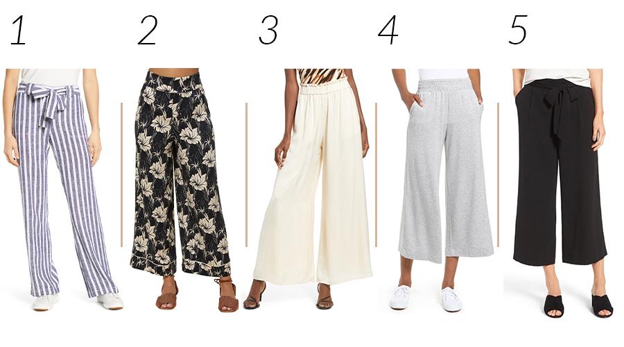wide leg pants 2020