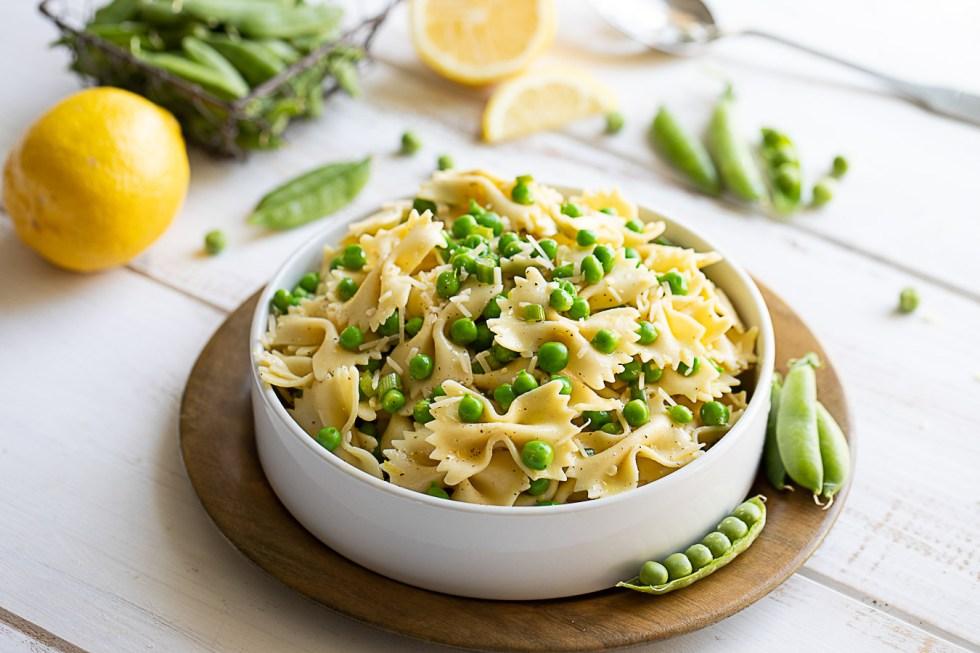 Healthy Pasta Salad - Pea Pasta Salad
