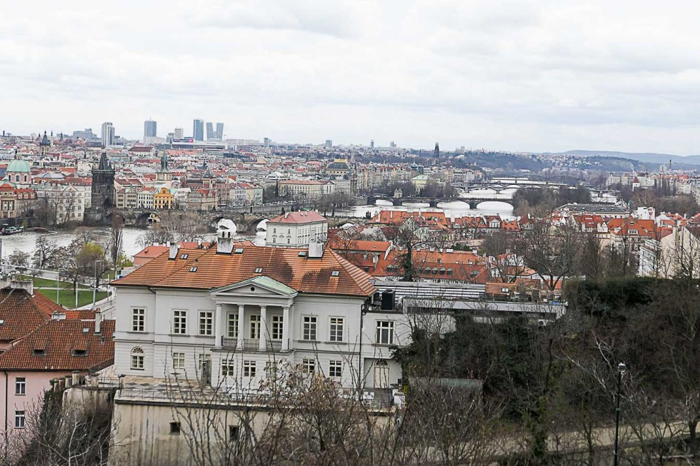 Prague Architecture Photos - Skyline