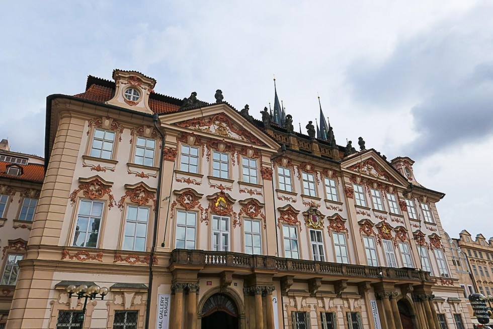 Prague Architecture Photos - Národní galerie Praha ― Palác Kinských - National Gallery