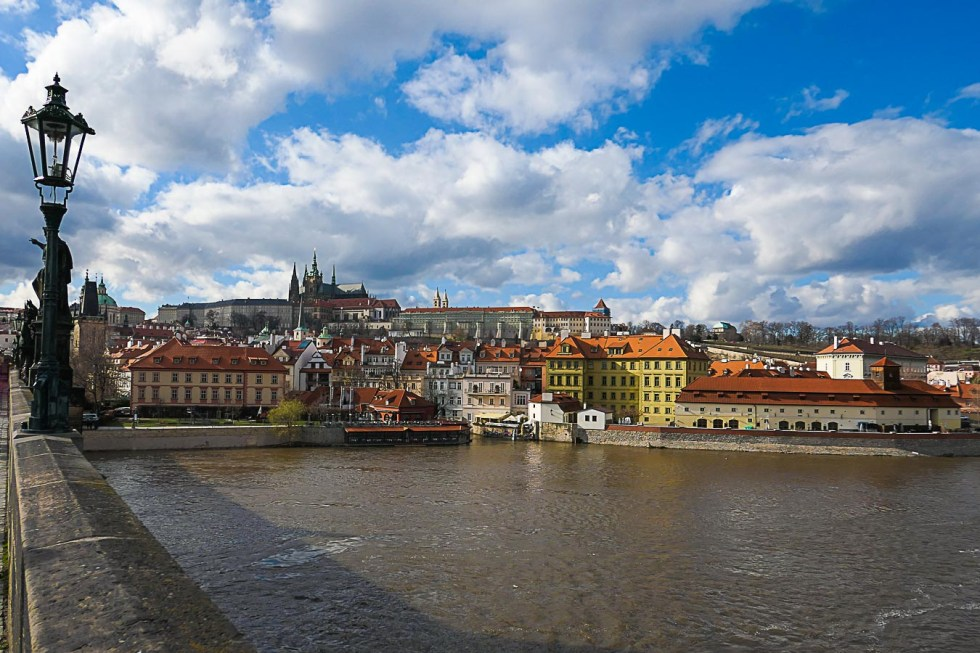 View from Charles Bridge