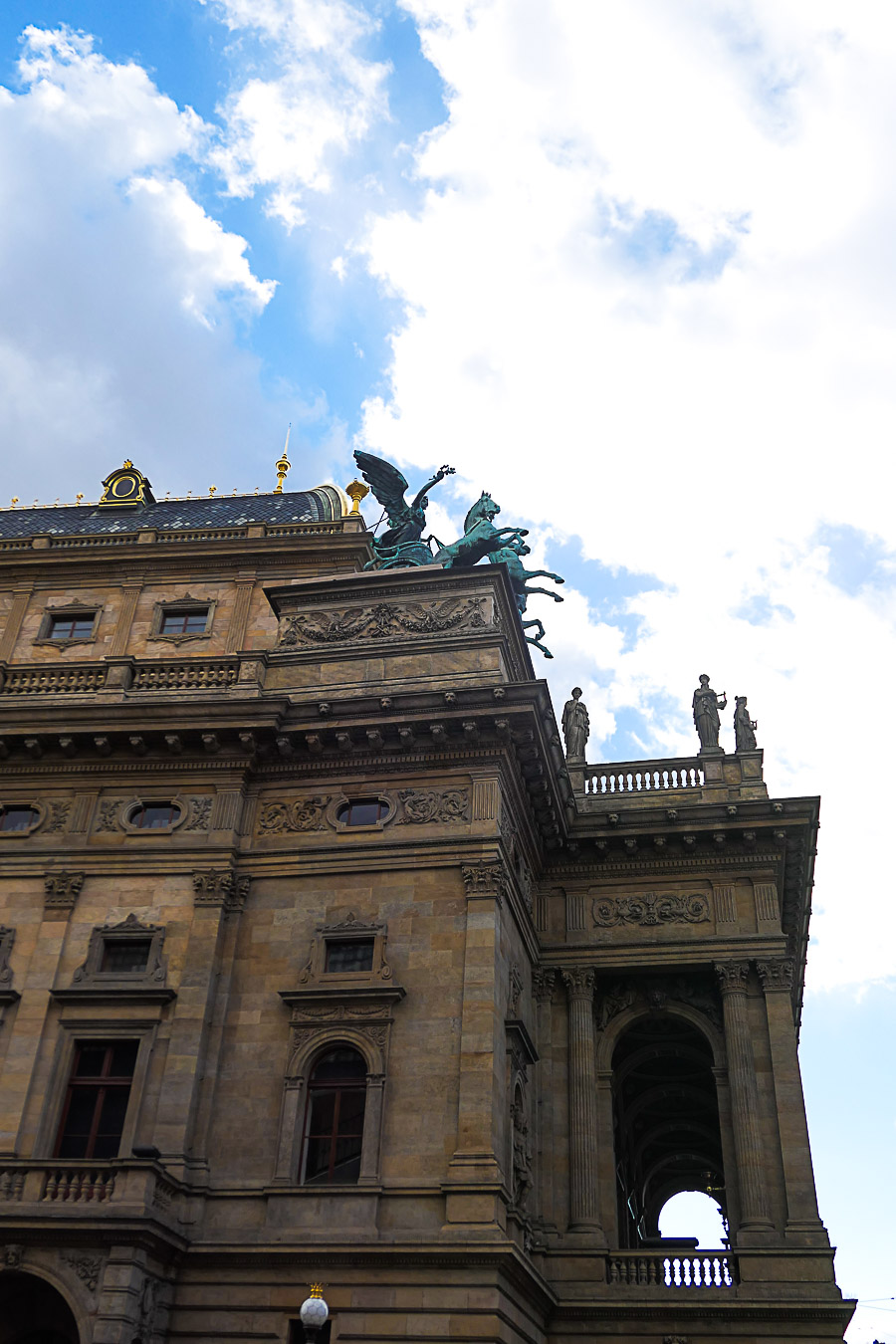 Prague Architecture Photos - National Theatre