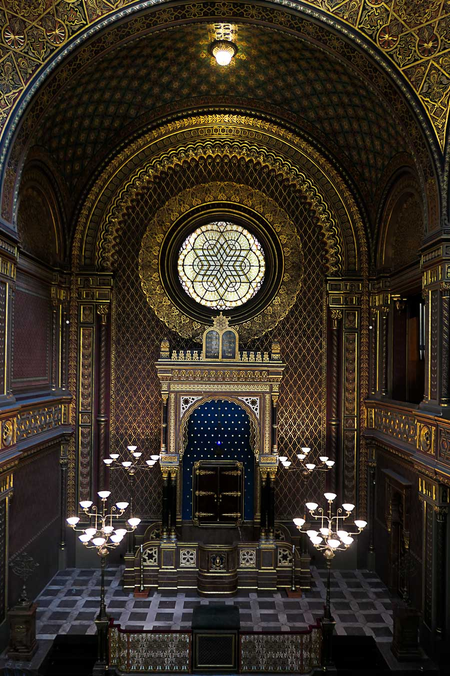 Prague Architecture Photos - Spanish Synagogue