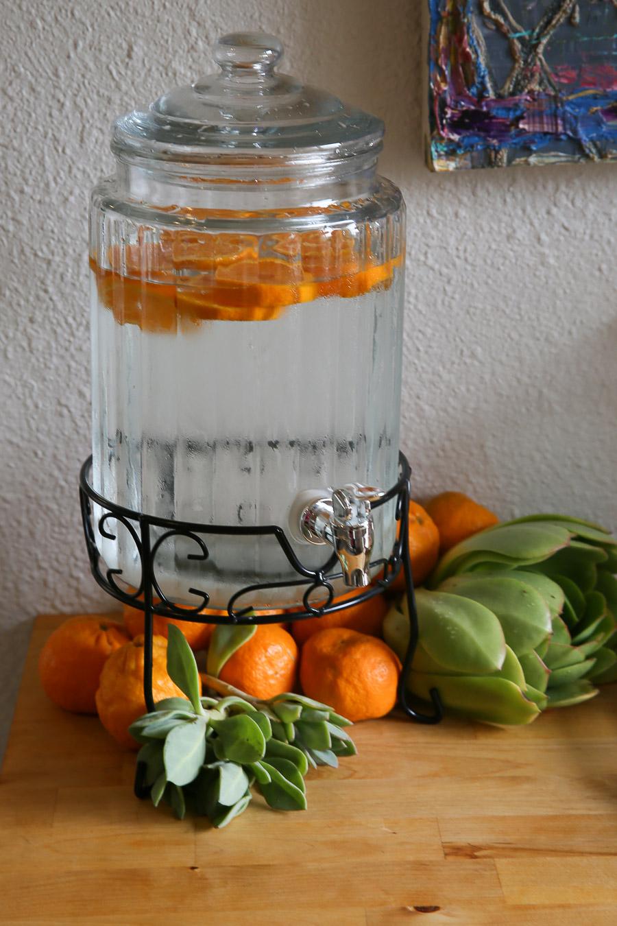 Ojai Pixie Tangerines in Water - Baby Shower Drinks