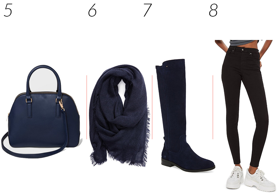 navy clothes for fall