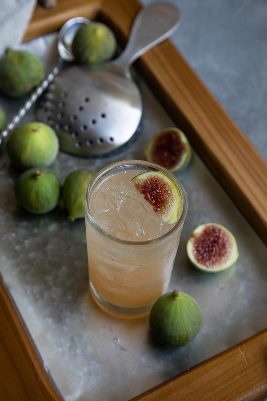 Fig Spritzer Cocktail