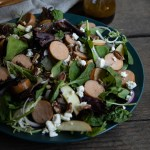 Chicken Sausage Salad Recipe