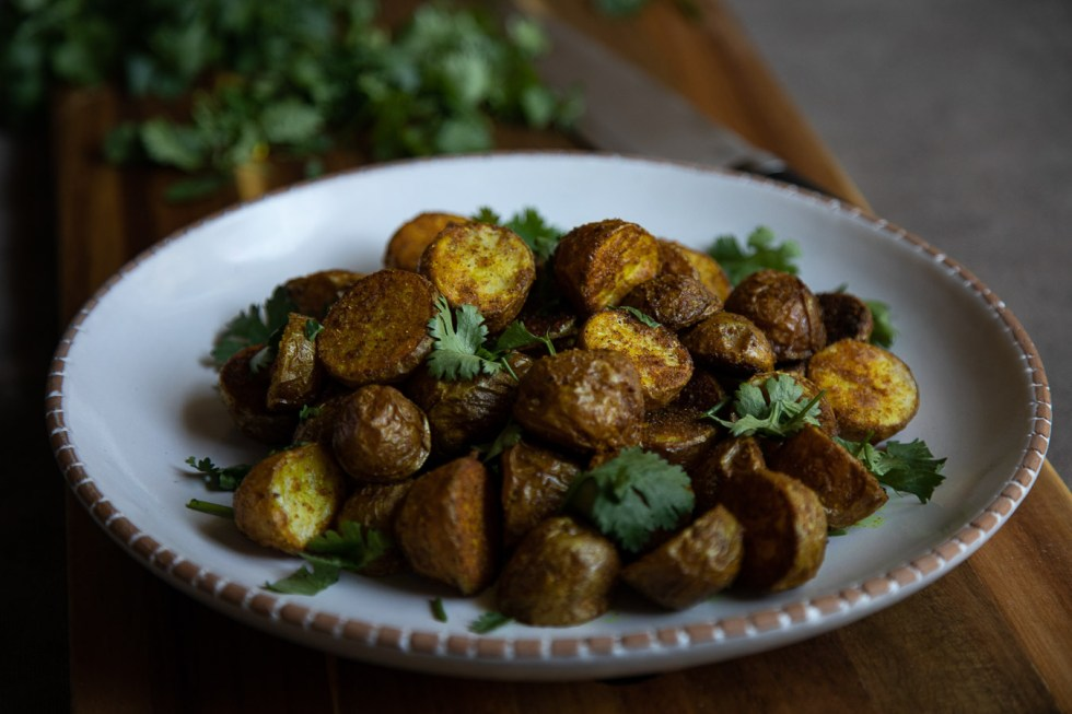 Curry Spiced Potatoes