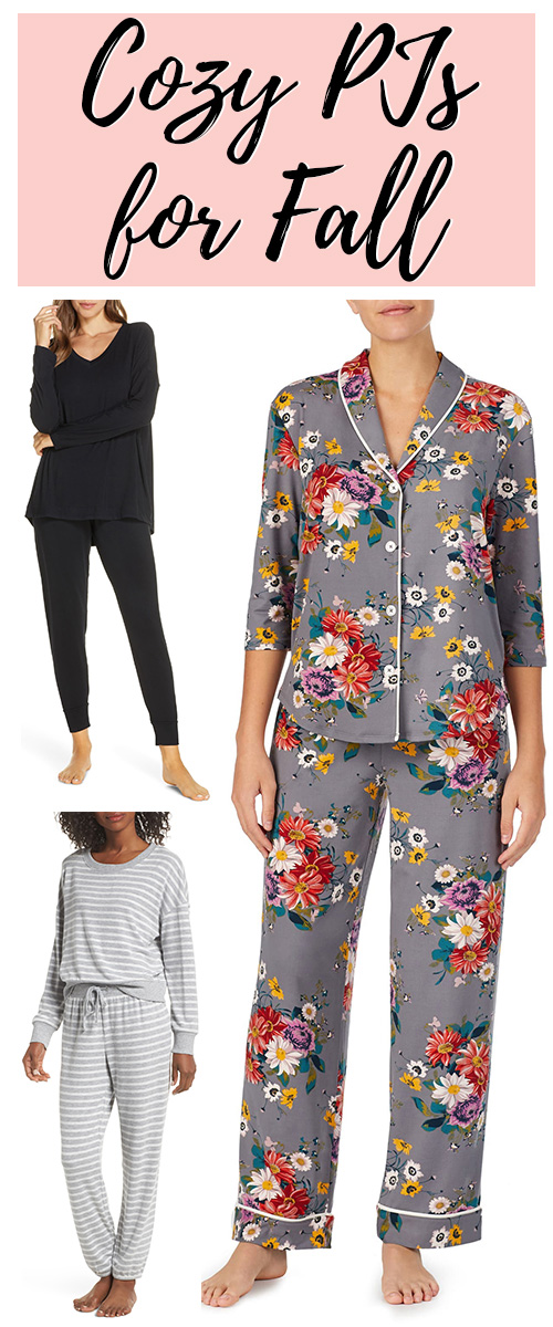 Cozy Pajamas for fall. These pj sets are beautiful, classic, and oh so comfortable.