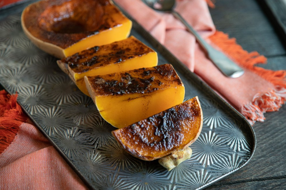 Roasted Cinnamon Sugar Squash